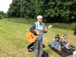 The Bard of Saltaire and FoBB member Eddie Lawler sings his Bradford Beck song.