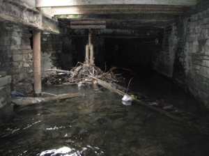 Poor state of the Beck culvert under the Odeon