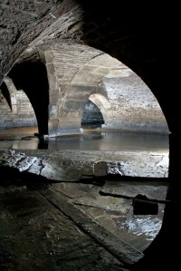'The meeting point of two historic water courses. A credit to the Victorians and their engineering skills – as impressive as this junction is, these stone arches and vaults were built to be seen by no one, hiding the once heavily polluted Beck away from the people of Bradford.'